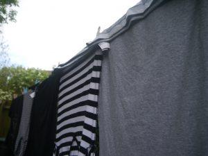 Line drying makes fabric fresh